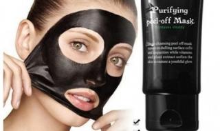 czarna maska peel-off