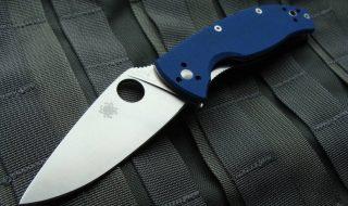 nóż składany spyderco